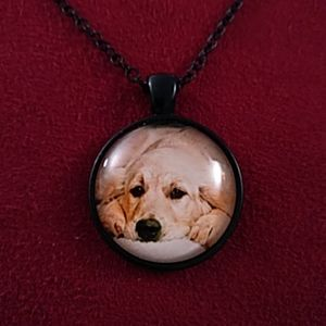 New - Necklace - dog